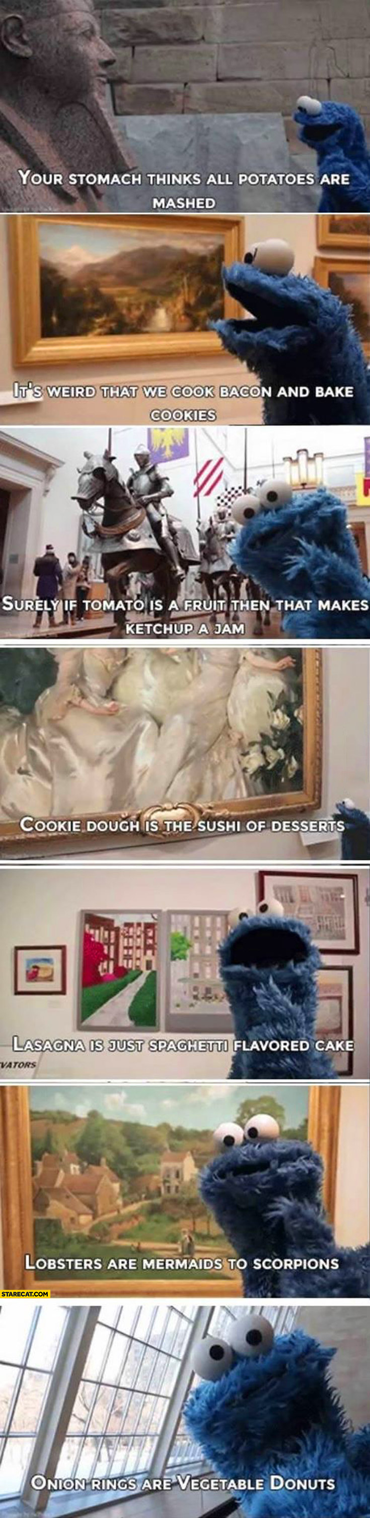Sesame Street Cookie Monster quotes