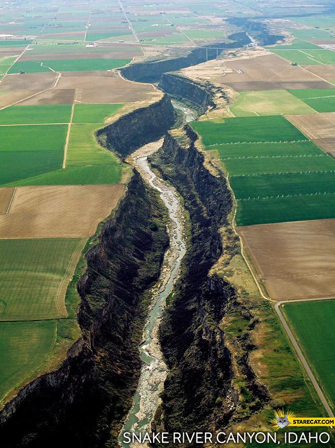 Snake River Canyon Idaho