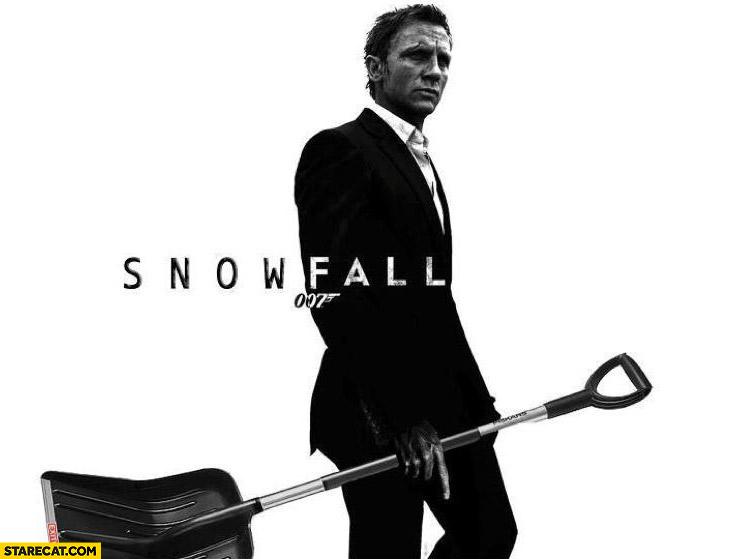 Snowfall 007 James Bond