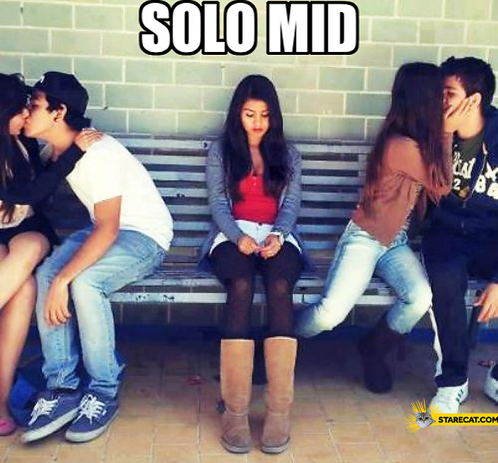 Solo mid girl