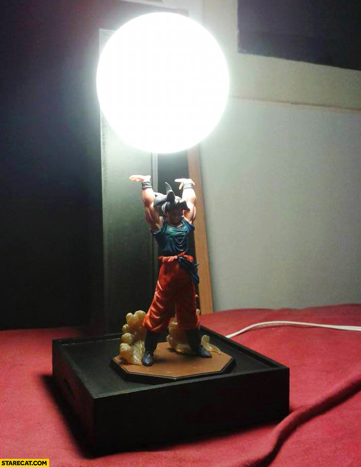 Son Goku Dragon Ball lamp