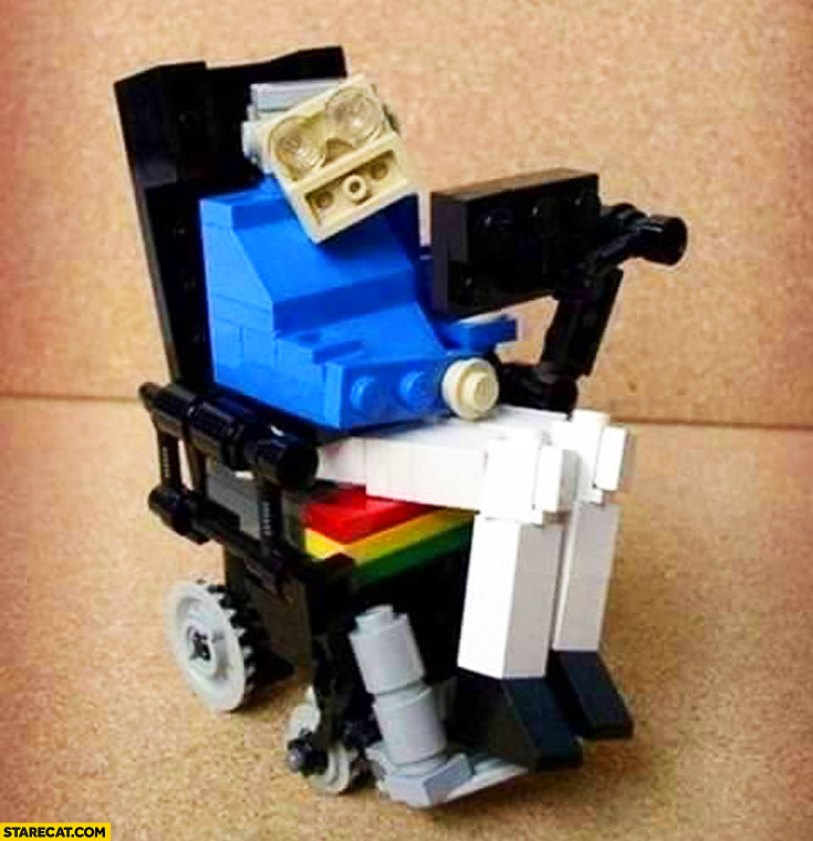 Stephen Hawking LEGO