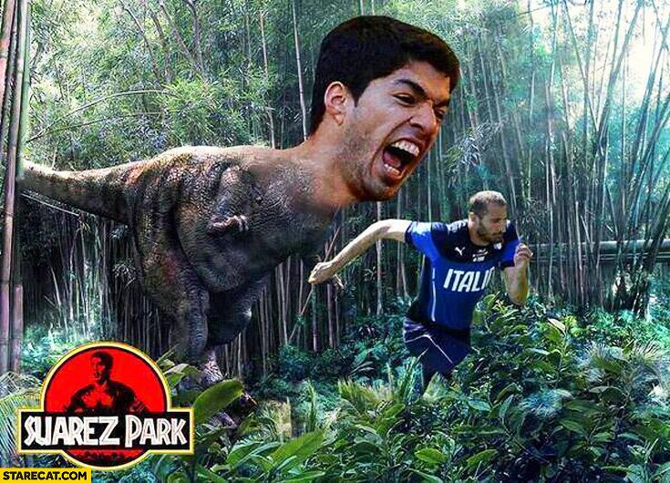 Suarez dinosaur T-Rex Suarez Park Jurassic Park