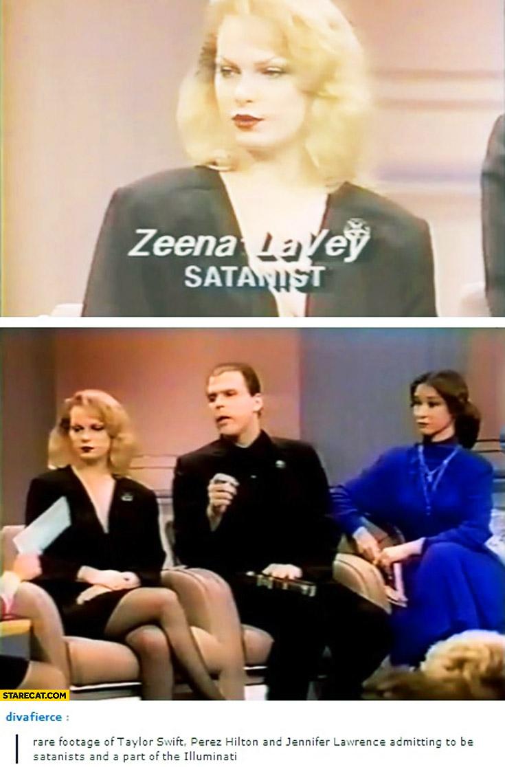 Taylor Swift Zeena Lavey satanist