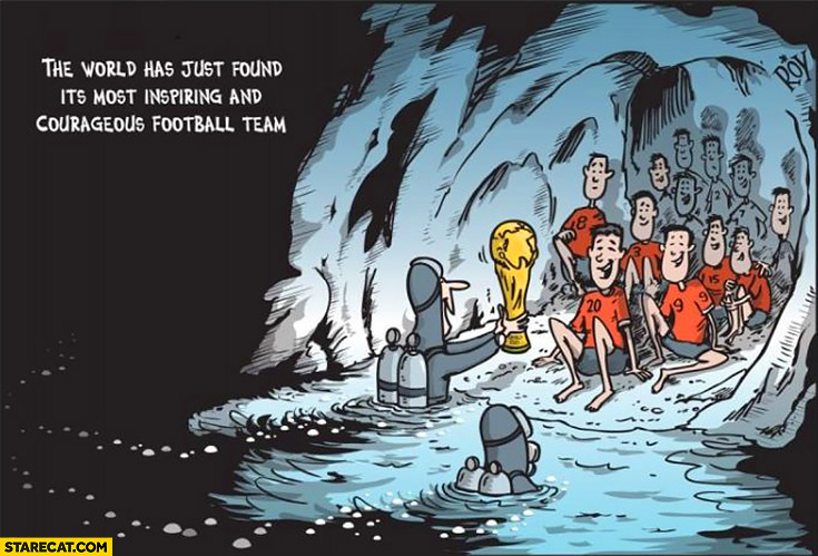 Thailand kids in cave the world has just found it's most inspiring and courageous football team