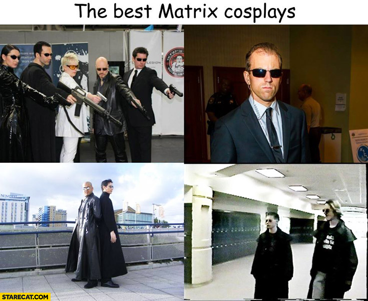 The best Matrix cosplays Columbine school shooting