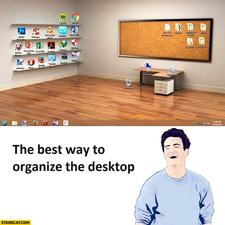 The best way to organize your desktop office room wallpaper