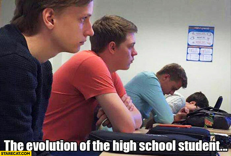 The evolution of the high school student: from awake to asleep