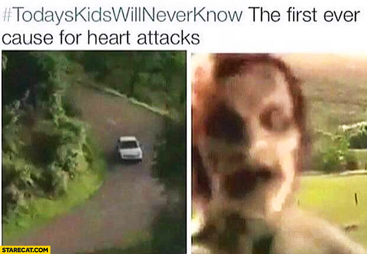 The first ever cause for heart attacks – scary youtube video