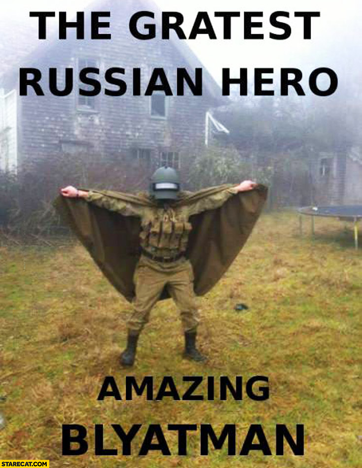 The greatest russian hero amazing Blyatman