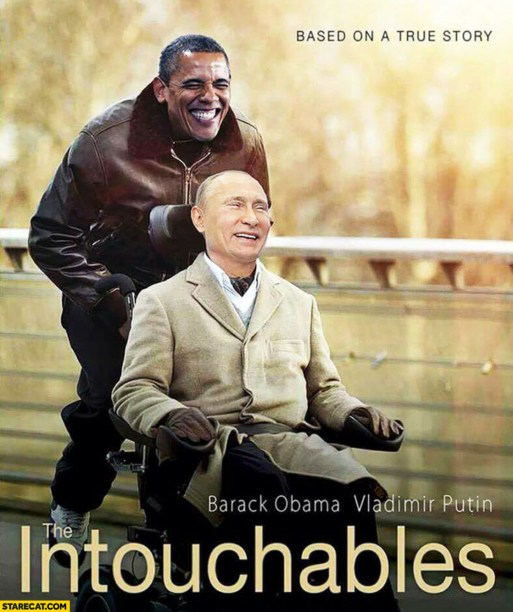 The Intouchables Obama Putin