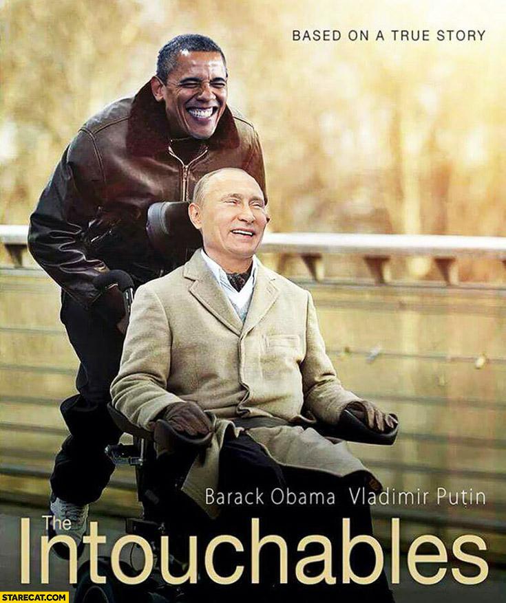 The Intouchables Obama Putin