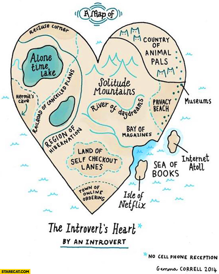 The introvert's heart