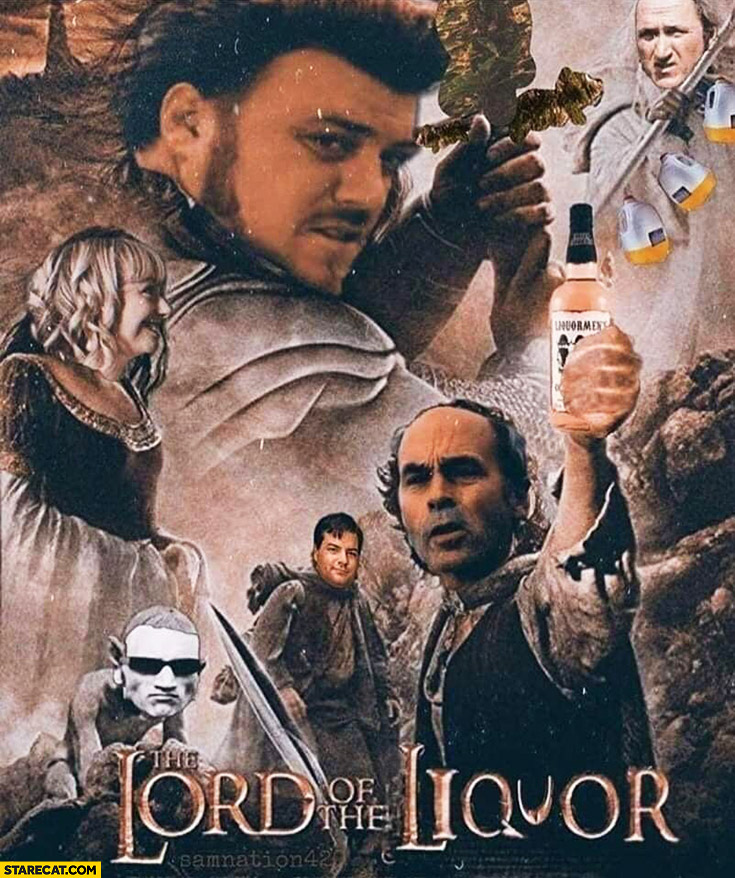 The Lord of the Liquor Lord of the Rings Trailer Park Boys