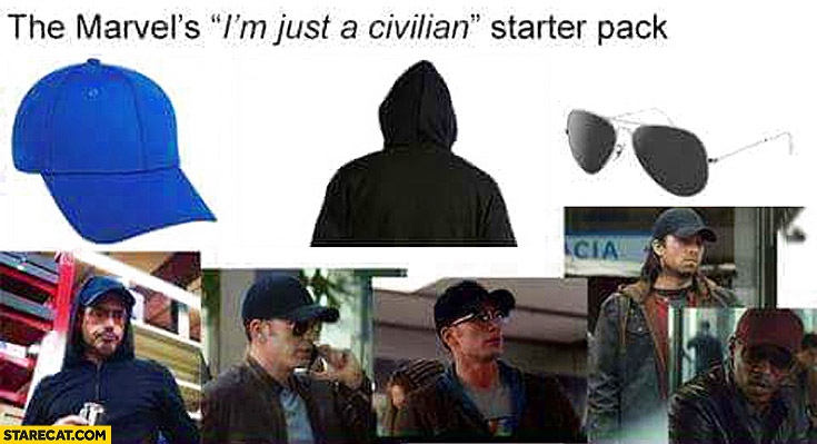 The Marvels I'm just a civilian starter pack