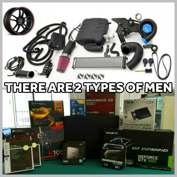 There are two types of men tuning car tuning computer