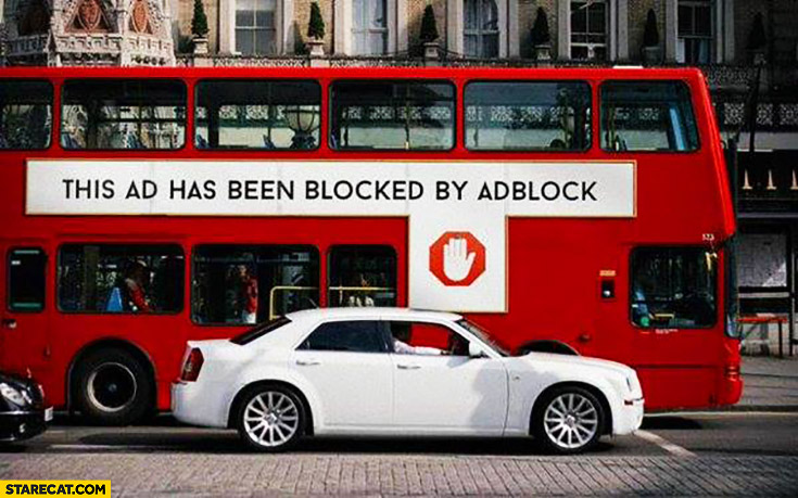 This AD has been blocked by AdBlock English bus