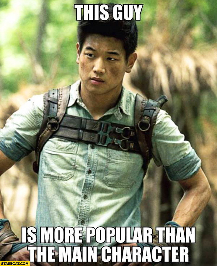 This guy is more popular than the main character The Maze Runner