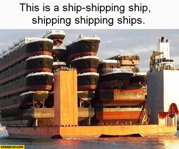 This is a ship-shipping ship shipping shipping ships