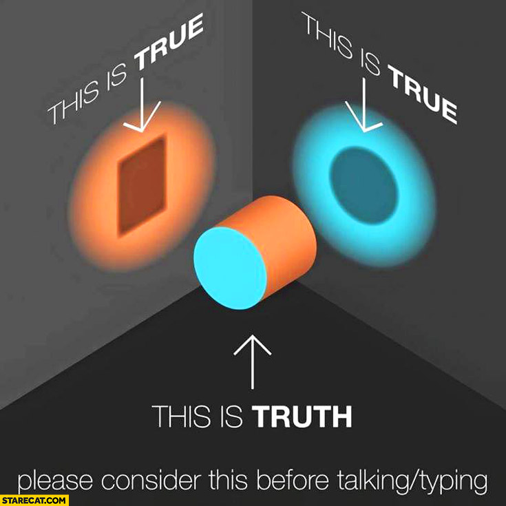 This is true this is truth square circle please consider before talking typing
