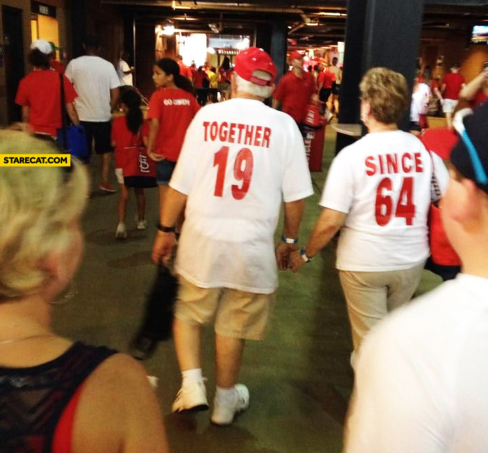 Together since 1964 tshirts