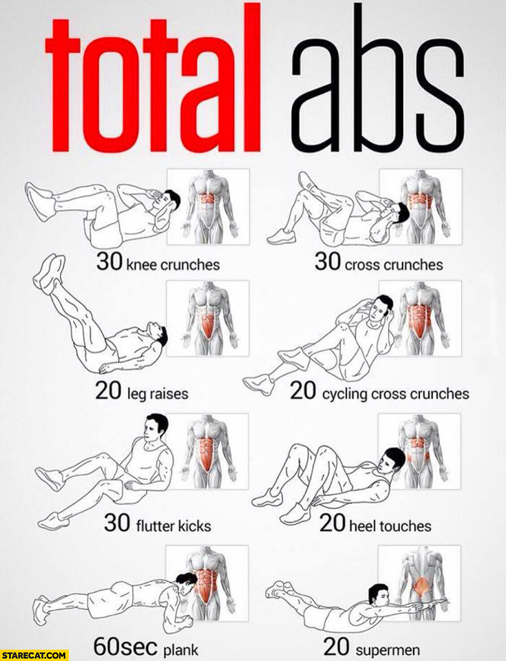 Total ABS training infographic