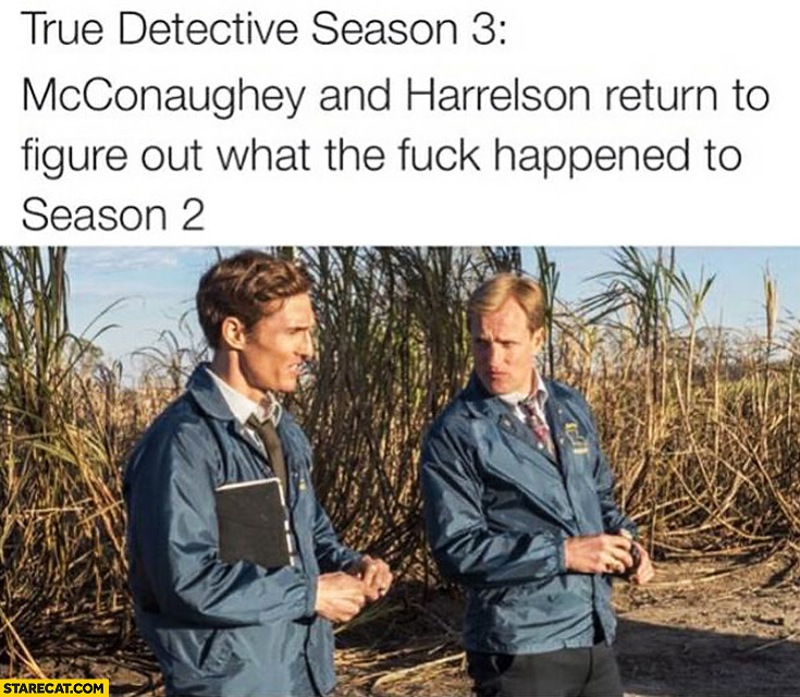 True detective season 3 McConaughey and Harrelson return to figure out what happened to season 2