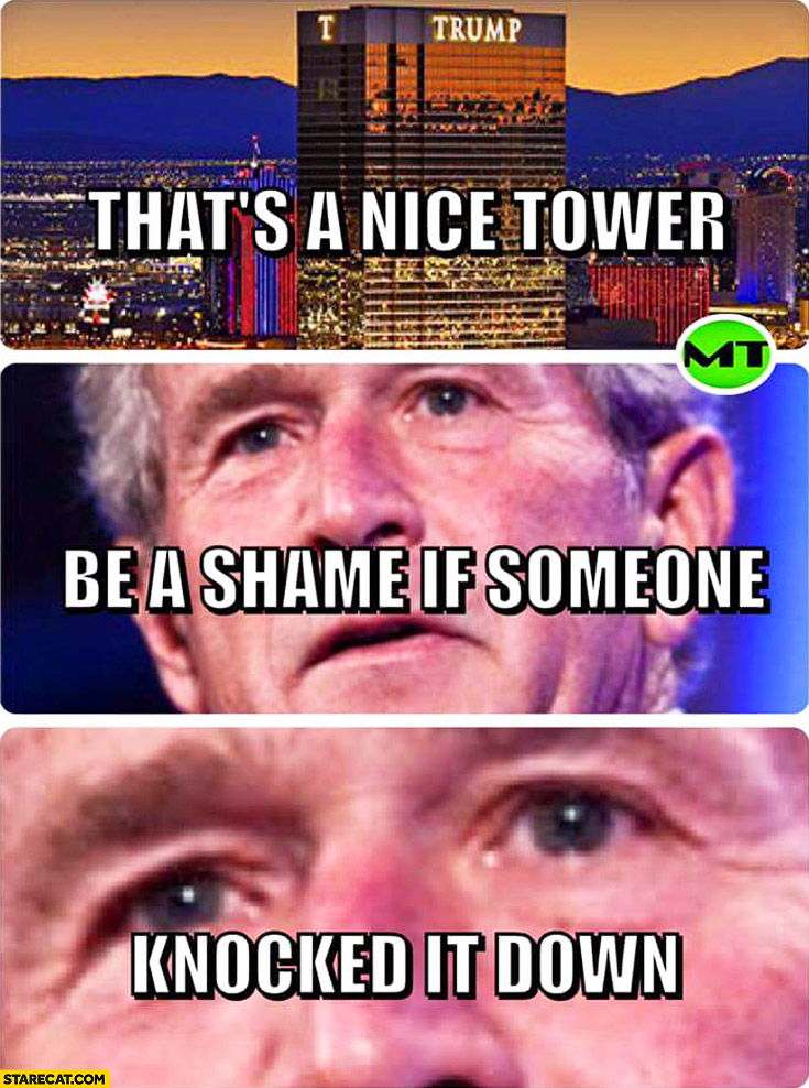 Image result for trump tower meme