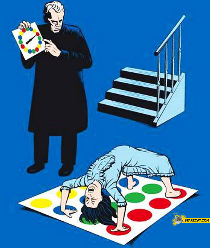 Twister for an exorcist