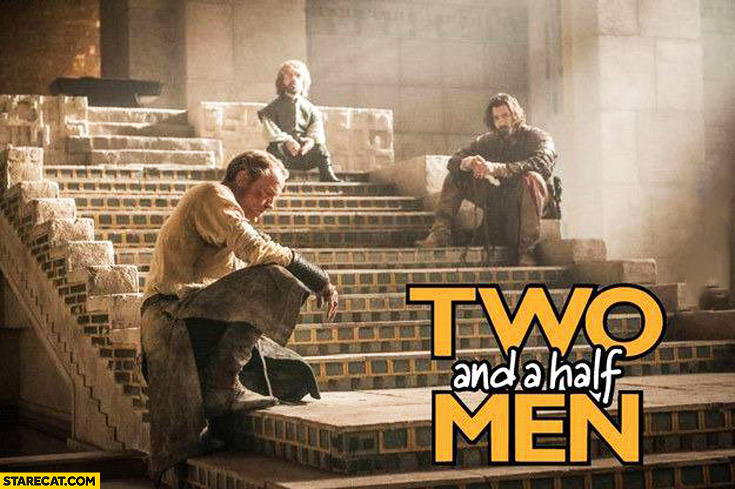 Two and a half men Game of Thrones