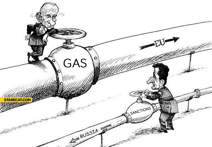 UE sanctions gas