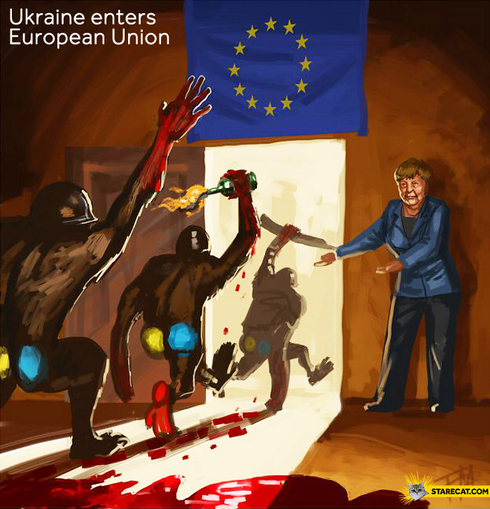Ukraine enters European Union