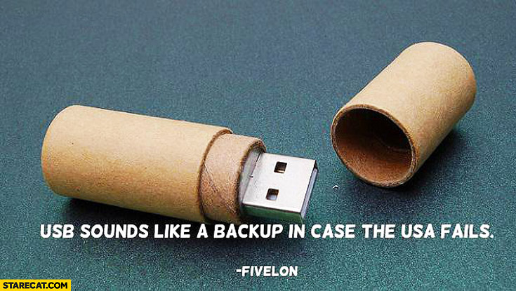 USB sounds like a backup in case the USA fails