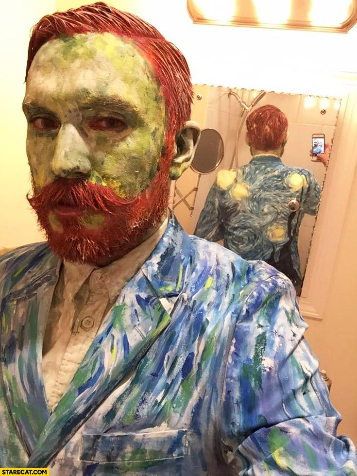 Van Gogh cosplay
