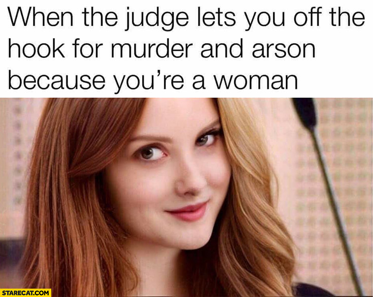 Varg Vikernes girl woman when the judge lets you off the hook for murder and arson because you're a woman