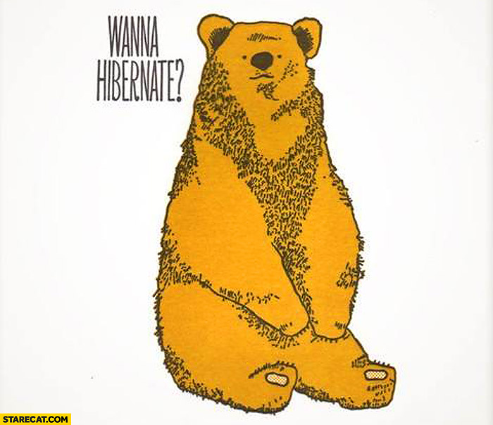 Wanna hibernate?