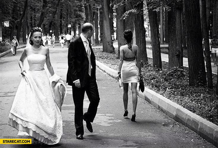 Wedding photo fail