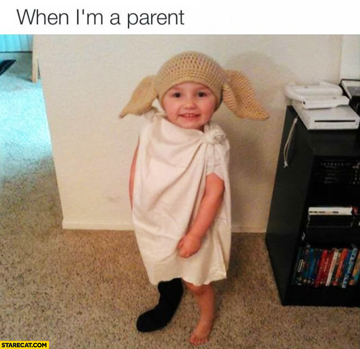 When I'm a parent kid