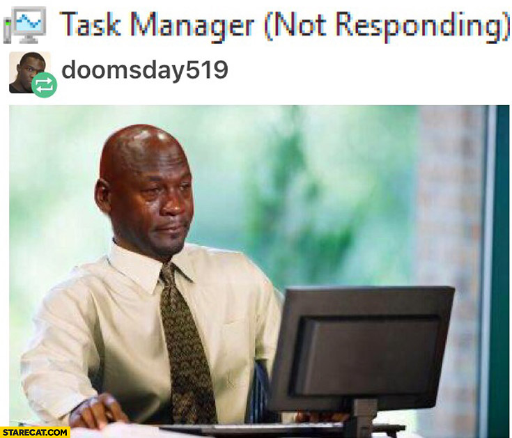 When task manager is not responding