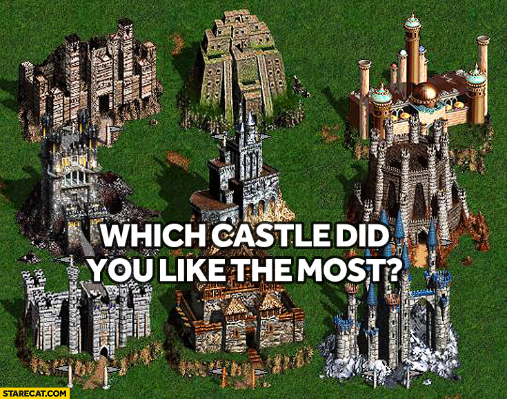 Which castle Heroes of might and magic did you like the most?
