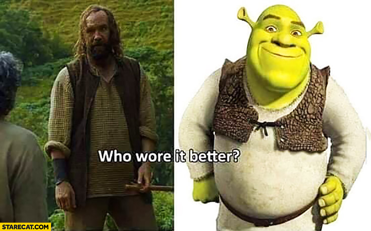 Who wore it better Game of Thrones Shrek