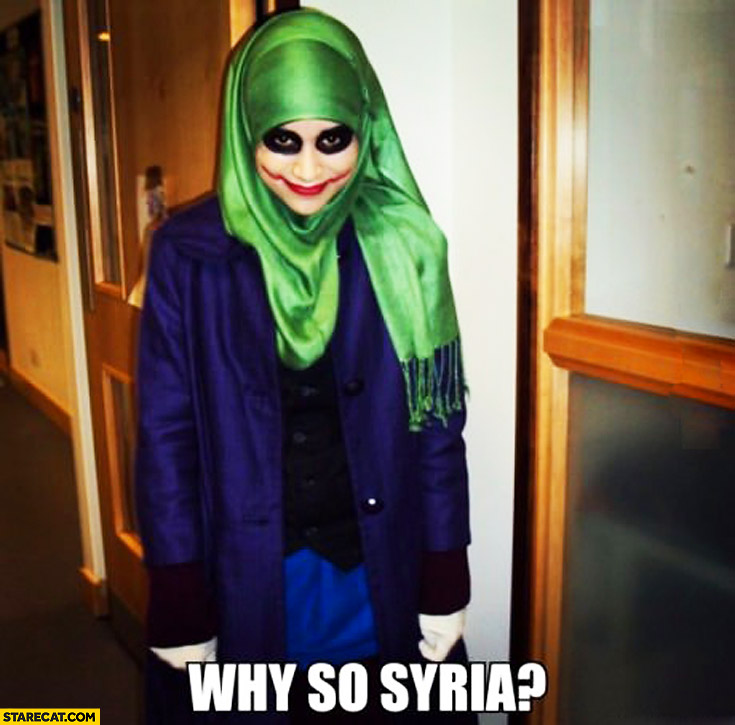 Why so Syria? Robin cosplay