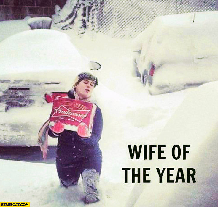 Wife of the year Budweiser