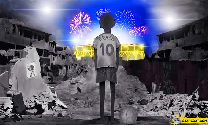 World Cup Brazil poverty