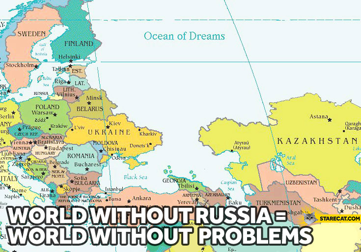 World without Russia world without problems