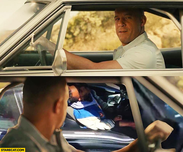 Xxxtentacion Fast and furious movie dead in his car photoshopped