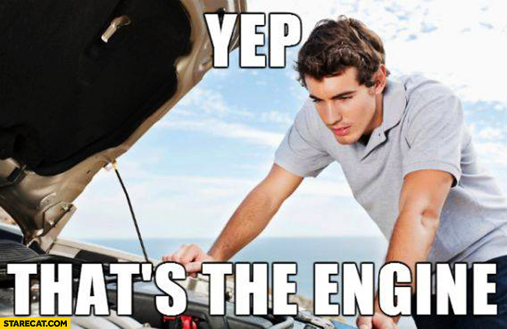 Yep that's the engine
