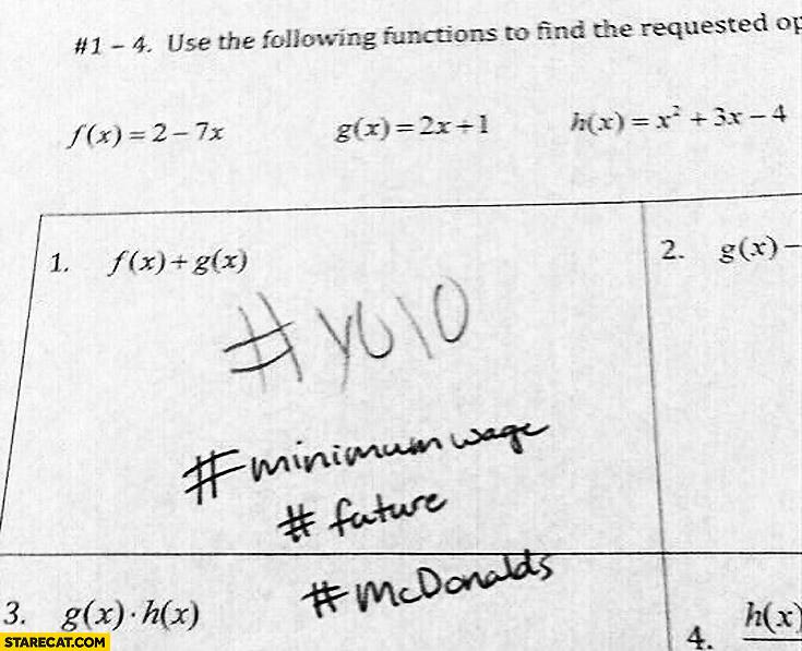 YOLO minimumwage future mcdonalds