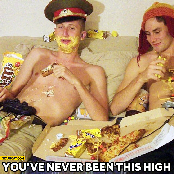 You've never been this high
