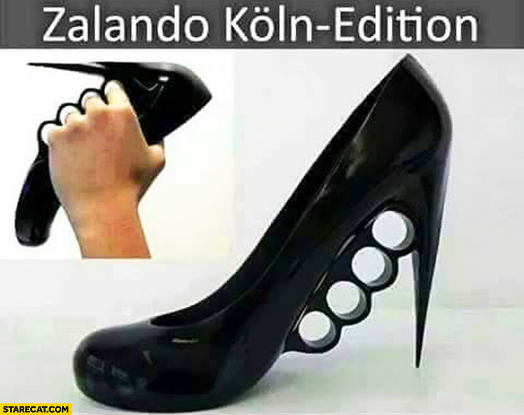 Zalando: Koln edition woman's shoes knuckle-duster